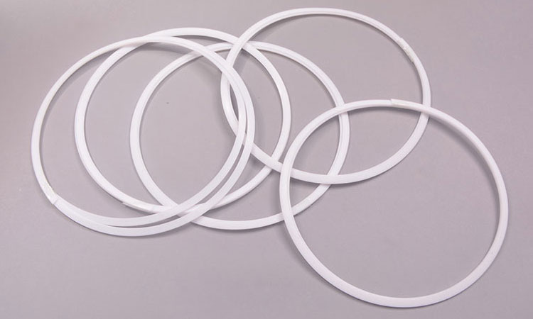 PTFE Back-up Rings, Spiral Backing Rings and deformed parts